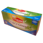 Lipton Clear Grean Mint 25 Teabags